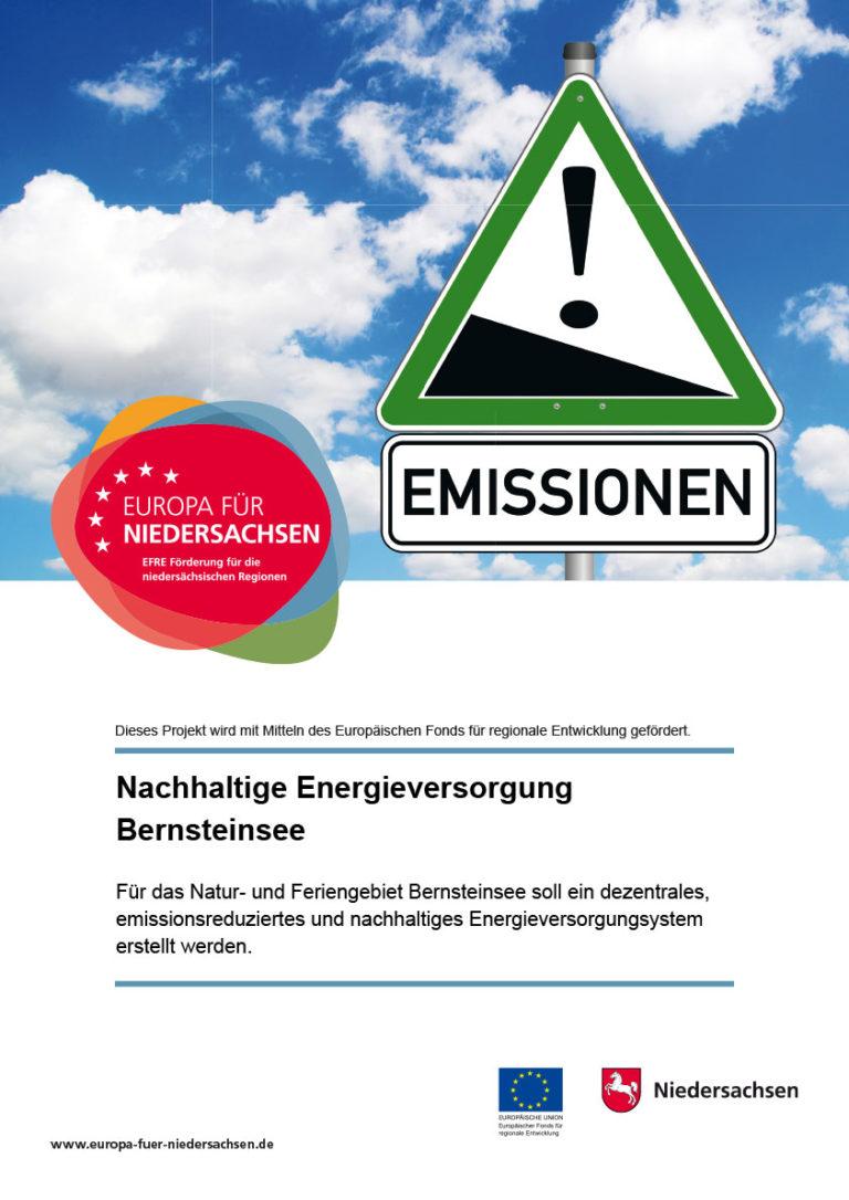Zertifikat über die nachhaltige Energieversorgung am Bernsteinsee
