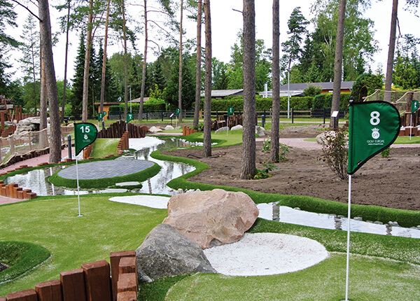 Adventure Golf Platz