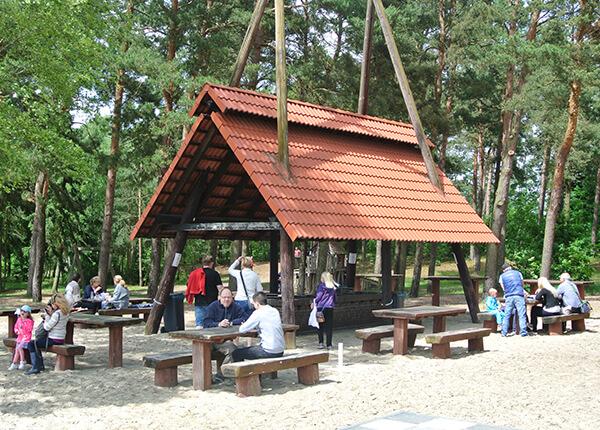 Grillplatz am Bernsteinsee Strand