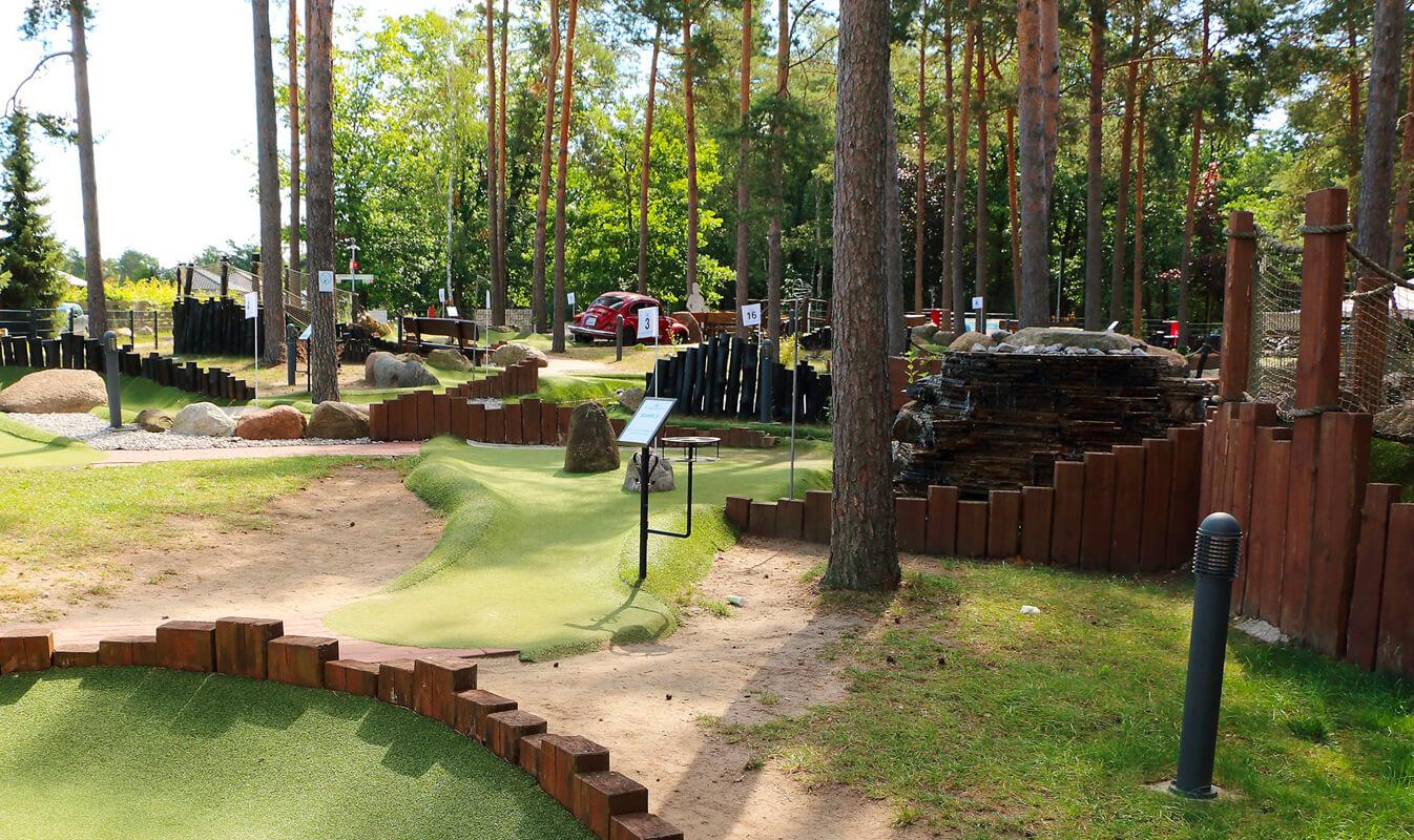 Adventure Golf Anlage am Bernsteinsee