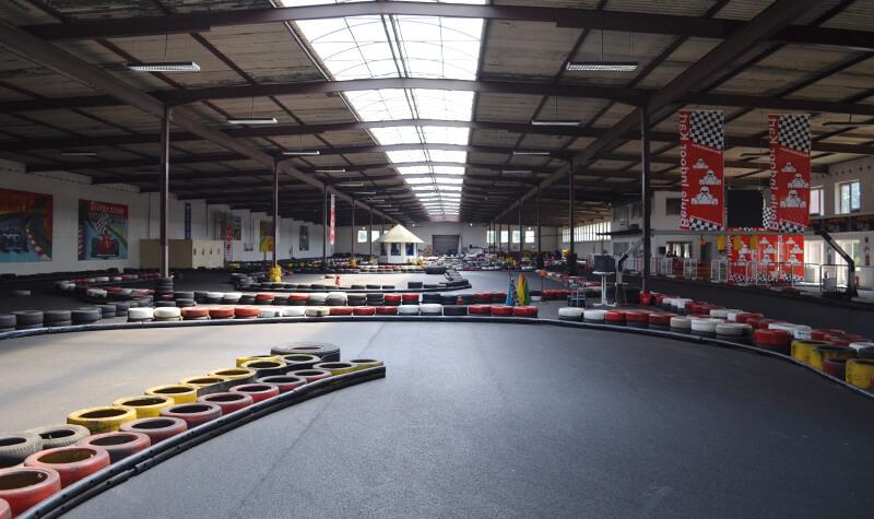 Beule Indoor Kartbahn