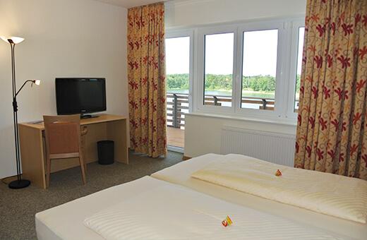 Komfort Doppelzimmer Bernsteinsee Hotel